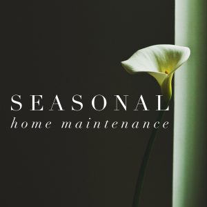 Seasonal Home Maint